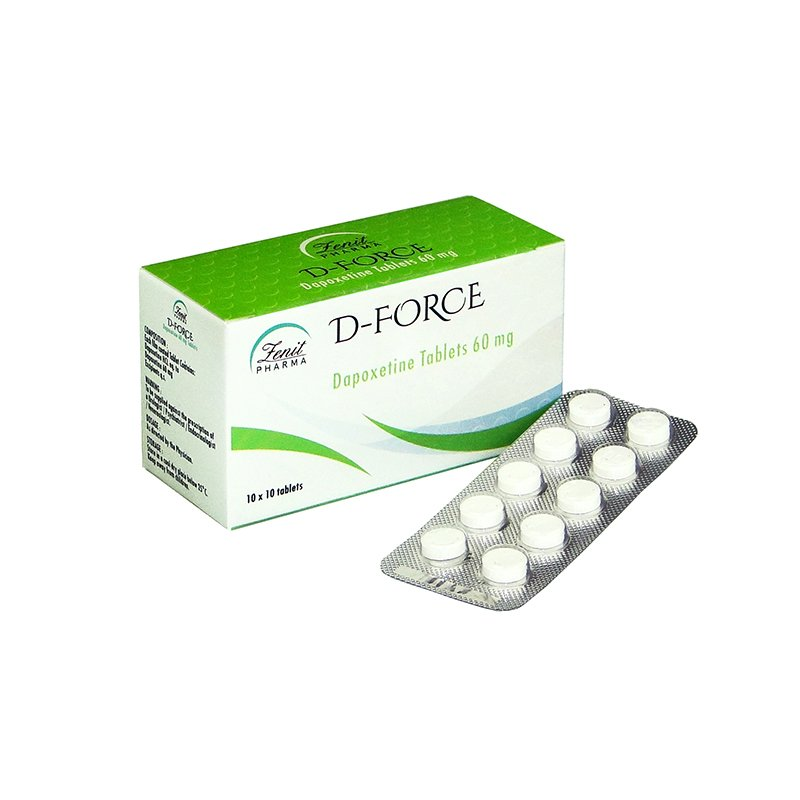 Dapoxetine D-Force 60mg